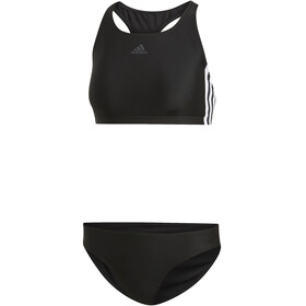 adidas Fit 3-Stripes 2 Piece Bikini Women, black